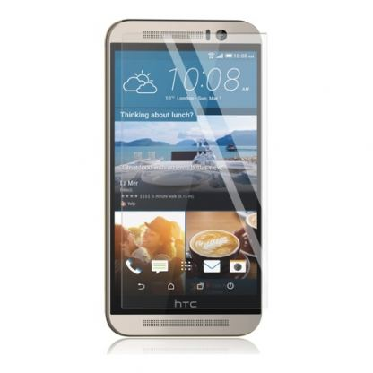 Panzer Tempered Glass Protector - калено стъклено защитно покритие за дисплея на HTC One M9