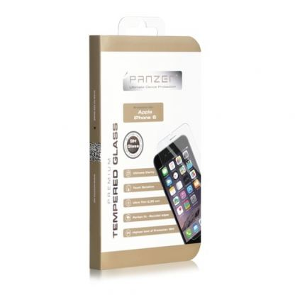 Panzer Tempered Glass Protector - калено стъклено защитно покритие за дисплея на iPhone 6S, iPhone 6 2
