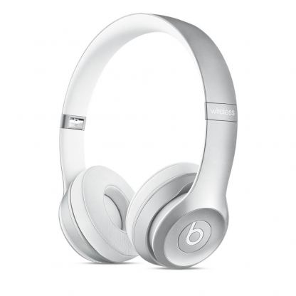 Beats by Dre Solo 2 Wireless - професионални безжични слушалки с микрофон и управление на звука за iPhone, iPod и iPad (сребрист)