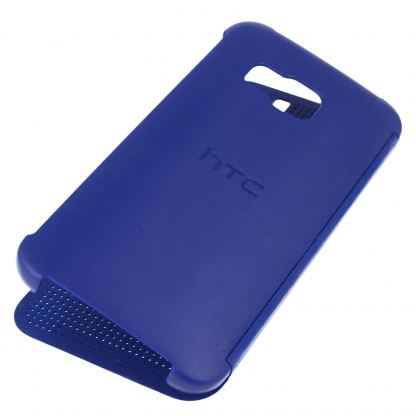 HTC Case Dot Flip HC M231 - оригинален кейс с активен капак за HTC One 3 M9 (син) 3