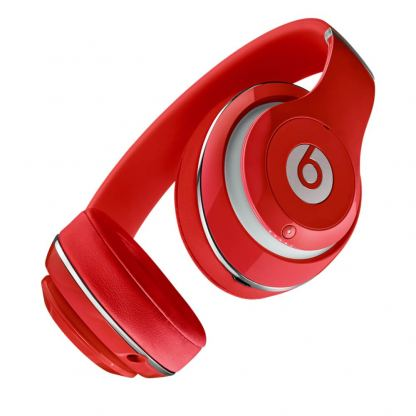 Beats by Dre Studio Wireless - професионални безжични слушалки с микрофон и управление на звука за iPhone, iPod и iPad (червен) 2