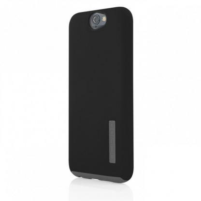 Incipio Dual Pro Case - удароустойчив хибриден кейс за HTC One A9 (черен)