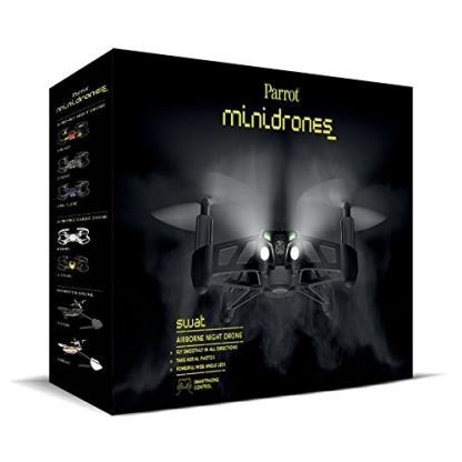 Parrot Minidrones Airborne Night Drone SWAT - мини дрон управляван от iOS, Android или Windows Mobile 2