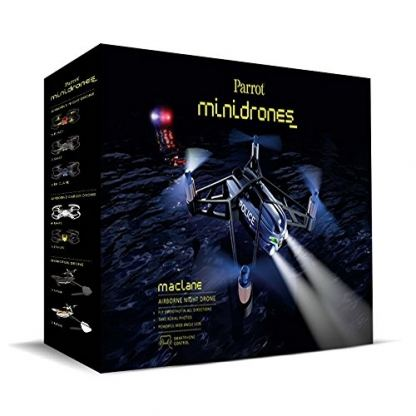 Parrot Minidrones Airborne Night Drone MacLane - мини дрон управляван от iOS, Android или Windows Mobile 2