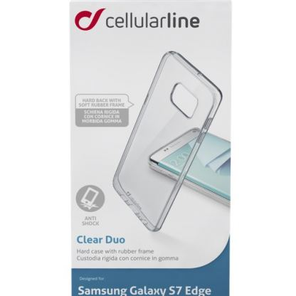 Clearduo кейс за Samsung Galaxy S7 edge 2
