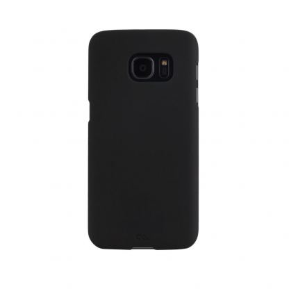 CaseMate Barely There - поликарбонатов кейс за Samsung Galaxy S7 (черен)