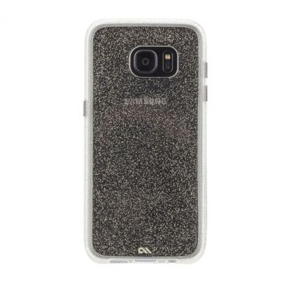 CaseMate Tough Naked Sheer Glam Case - кейс с висока защита за Samsung Galaxy S7 Edge (златист) 3