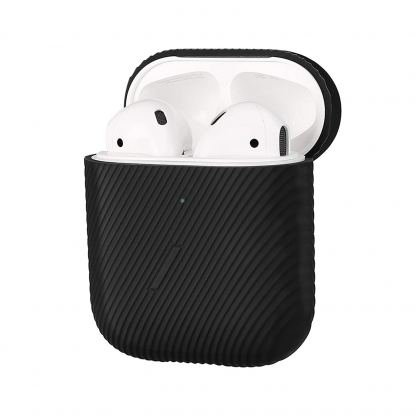 Native Union Airpods Silicone Curve Case - силиконов калъф за Apple Airpods и Apple Airpods 2 (черен)