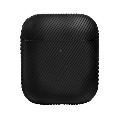 Native Union Airpods Silicone Curve Case - силиконов калъф за Apple Airpods и Apple Airpods 2 (черен) 2