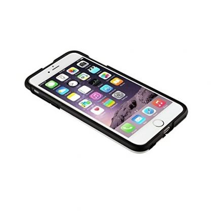 QDOS Portland Case - хибриден кейс с поставка за iPhone 6S Plus, iPhone 6 Plus (бял) 3