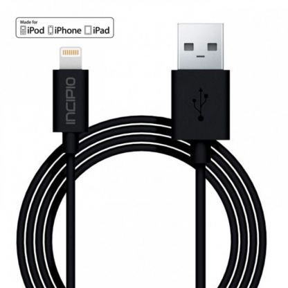 Incipio Lightning to USB Cable - Lightning кабел за iPhone, iPad, iPod с Lightning (1 метър)
