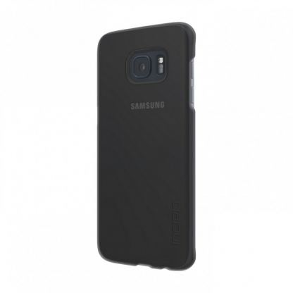 Incipio Feather Pure Case - поликарбонатов кейс за Samsung Galaxy S7 Edge (черен-прозрачен) 3