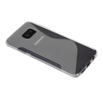 S-Line Cover Case - силиконов (TPU) калъф за Samsung Galaxy S7 Edge (прозрачен) 2