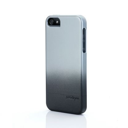 Prodigee Flow Case - поликарбонатов слайдер кейс за iPhone SE, iPhone 5S, iPhone 5 (черен-сив) 2