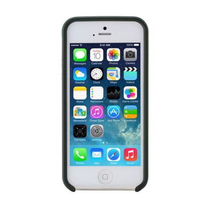 Prodigee Flow Case - поликарбонатов слайдер кейс за iPhone SE, iPhone 5S, iPhone 5 (черен-сив) 7