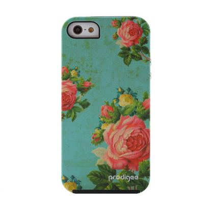 Prodigee Artee Bouquet Flower Case - хибриден удароустойчив кейс за iPhone SE, iPhone 5S, iPhone 5 2