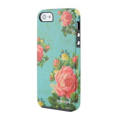Prodigee Artee Bouquet Flower Case - хибриден удароустойчив кейс за iPhone SE, iPhone 5S, iPhone 5 3