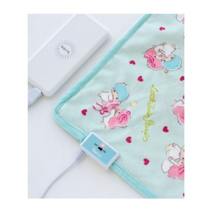 Torrii Sanrio USB Thermotherapy Blanket Little Twin Stars - бебешко термо одеяло (светлосин)  3