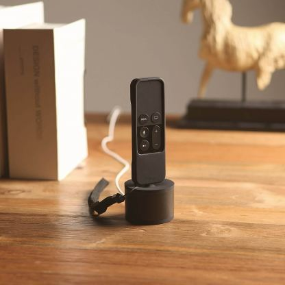 Elago D Stand Charging Station - док станция за iPhone, iPad mini, Siri Remote, Magic Mouse и Wireless Keyboard (черна) 5