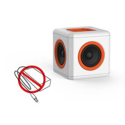 Allocacoc audioCube EU - bluetooth 360 градусов спийкър за iPhone, iPad, Samsung и други мобилни устройства 2