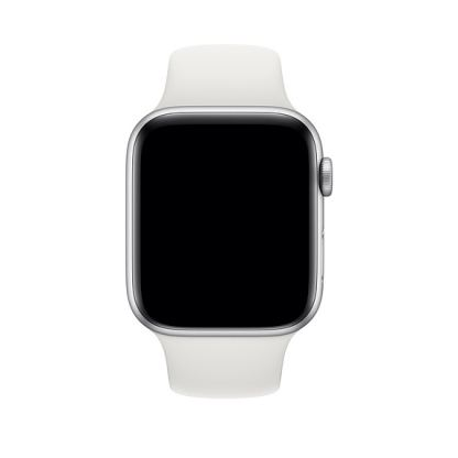 Apple Sport Band M/L - оригинална силиконова каишка за Apple Watch 38мм, 40мм (бял) (bulk) 2