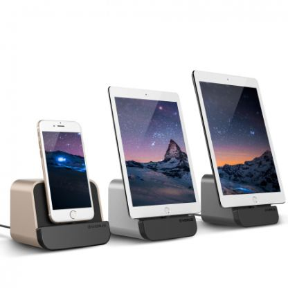 Verus i-Depot Cradle - док станция за iPhone 6, 6 Plus, iPad mini, iPad Air, iPad Pro 9.7 (сребриста) 6