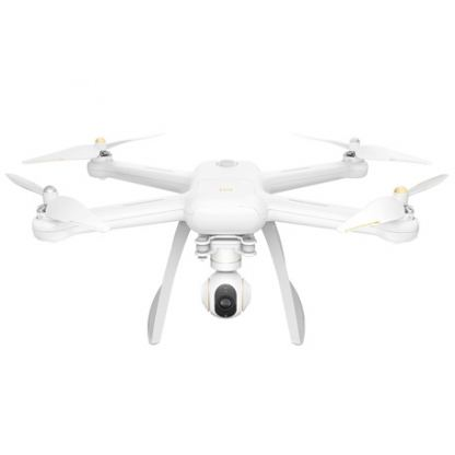 Xiaomi Mi Drone 4K Edition- дрон с радиус до 2000 метра,4K камера за iOS и Android (бял)