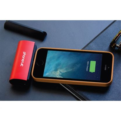 PhoneSuit Flex XT Pocket Charger - външна батерия 2600 mAh за iPhone, iPad и iPod с Lightning (червен) 2