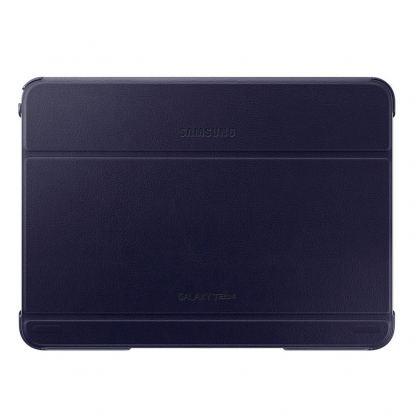 Samsung Book Cover Case - хибриден кожен калъф и поставка за Samsung Galaxy Tab 4 10.1 SM-T530/SM-T535 (тъмносин)