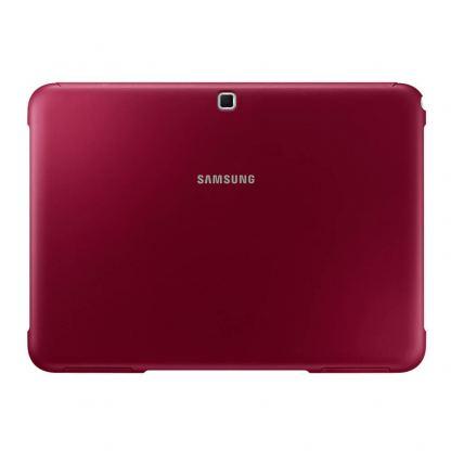 Samsung Book Cover Case - хибриден кожен калъф и поставка за Samsung Galaxy Tab 4 10.1 SM-T530/SM-T535 (червен) 2