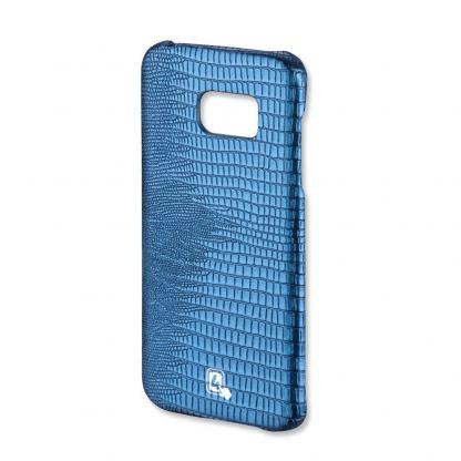 4smarts LOUISIANA Clip - качествен кожен кейс за Samsung Galaxy S7 (син)
