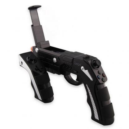 iPega Gun BT Remote Controller - безжичен игрови контролер за мобилни устройства под формата на пистолет 2
