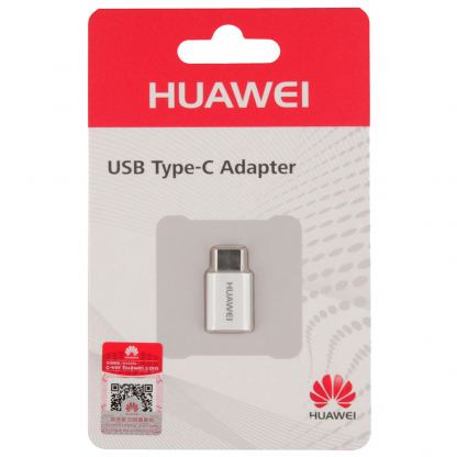 Huawei microUSB to USB-C Adapter - microUSB адаптер за MacBook 12 и устройства с USB-C порт