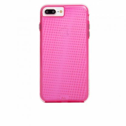 CaseMate Naked Tough Translucent Case - кейс с висока защита за iPhone 7 Plus, iPhone 6S Plus, iPhone 6 Plus (розов) 2