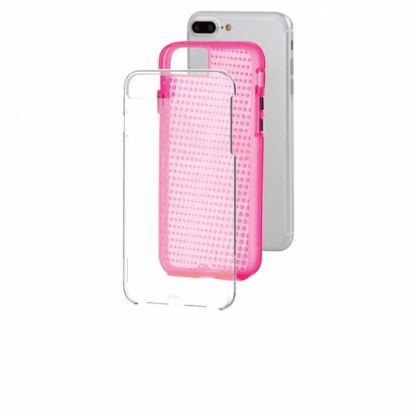 CaseMate Naked Tough Translucent Case - кейс с висока защита за iPhone 7 Plus, iPhone 6S Plus, iPhone 6 Plus (розов) 3