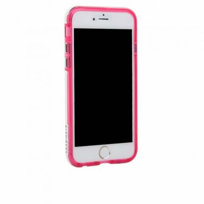CaseMate Naked Tough Translucent Case - кейс с висока защита за iPhone 7 Plus, iPhone 6S Plus, iPhone 6 Plus (розов) 4