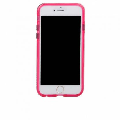 CaseMate Naked Tough Translucent Case - кейс с висока защита за iPhone 7 Plus, iPhone 6S Plus, iPhone 6 Plus (розов) 5
