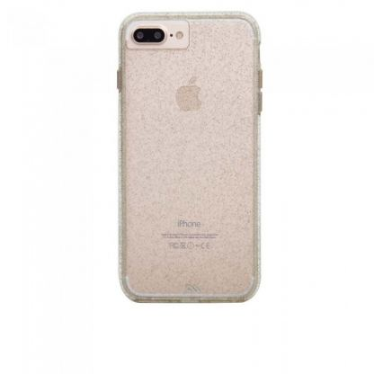 CaseMate Naked Tough Sheer Glam Case - кейс с висока защита за iPhone 7 Plus, iPhone 6S Plus, iPhone 6 Plus (златист) 2