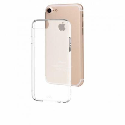 CaseMate Barely There - поликарбонатов кейс за iPhone 7, iPhone 8, iPhone 6S, iPhone 6 (прозрачен) 3