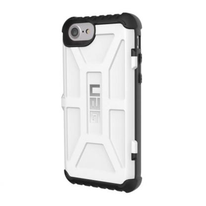 Urban Armor Gear Trooper - удароустойчив хибриден кейс с отделение за карти за iPhone 7 (бял) 2