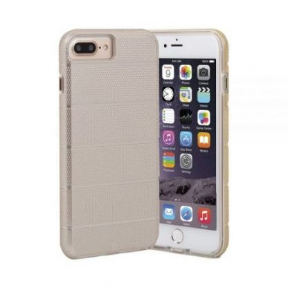 CaseMate Tough Mag Case - кейс с висока защита за iPhone 7 Plus, iPhone 8 Plus, iPhone 6S Plus, iPhone 6 Plus (златист)