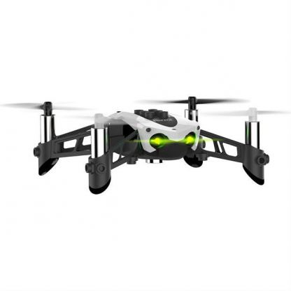 Parrot Mambo Drone with Flypad, Cannon and Grabber - мини дрон управляван от iOS, Android или Windows Mobile