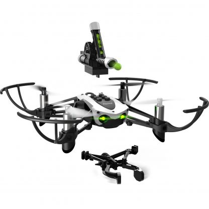 Parrot Mambo Drone with Flypad, Cannon and Grabber - мини дрон управляван от iOS, Android или Windows Mobile 2