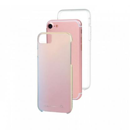 CaseMate Naked Tough Iridescent Case - кейс с висока защита за iPhone 7, iPhone 6S, iPhone 6 2