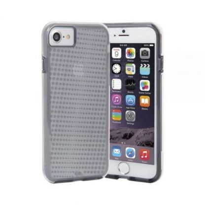 CaseMate Naked Tough Translucent Case - кейс с висока защита за iPhone 7, iPhone 6S, iPhone 6 (сив) 5