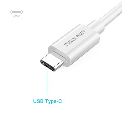TeckNet TE001 USB-C with Ethernet Adapter - адаптер USB-C към Ethernet за компютри с USB-C порт 4