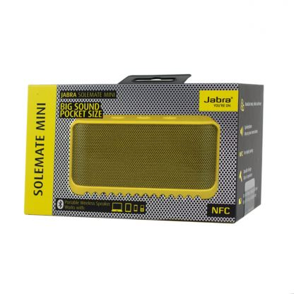 Jabra Portable BT Speaker Solemate Mini - преносим Bluetooth спийкър за iPhone и мобилни устройства (жълт) 3