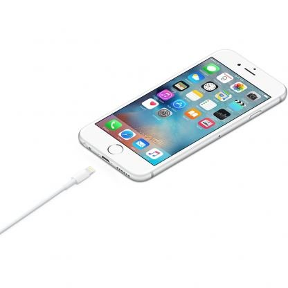 Apple Lightning to USB Cable 0.5m. - оригинален USB кабел за iPhone 5/5S/SE/5C, iPhone 6/6S, 6/6S plus, iPad 4, Air, Air 2, iPad Pro, iPad mini, iPod Touch 5, iPod Nano 7 0.5м (bulk) 7