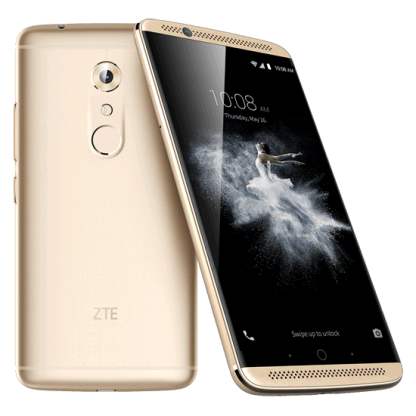 "Smartphone ZTE Axon 7 LTE Dual SIM 5.5"" AMOLED WQHD (2560 x 1440) / Qualcomm Quad-Core (2 x 2.15GHz + 2 x 1.6GHz) / 64GB Memory / 4GB RAM / Camera 20.0 MP+Led Flash & AF/8MP / Bluetooth 4.2 / WiFi 802.11 b/g/n/ac / GPS / Battery Li-Ion 3250 mAh / Android"