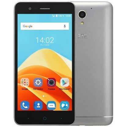 "Smartphone ZTE Blade А510 LTE Dual SIM 5.0"" IPS HD (1280 x 720) / Cortex-A53 Quad-Core 1.0GHz / 8GB Memory / 1GB RAM / Camera 13.0 MP+Flash & AF/5MP / Bluetooth 4.0 / WiFi 802.11 b/g/n / GPS / Battery Li-Ion 2200 mAh / Android 6.0 / Silver"